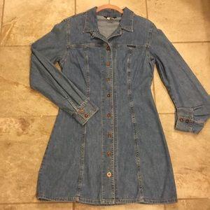 Guess jeans dress button down. SUPER CUTE 1995